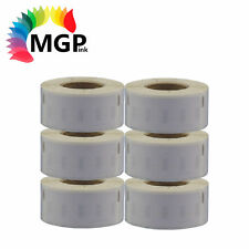6 ROLL DYMO / SEIKO COMPATIBLE LABELS 99010 28mm x 89mm for labelwriter printer