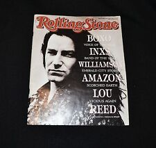 Rolling Stone Magazine April 1989 Issue 430 Bono, INXS  Vintage