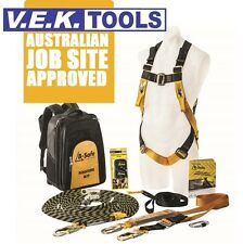 BEAVER ROOFERS FALL ARREST SAFETY HARNESS COMBO KIT-AUS JOB SITE APPROVED