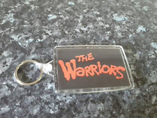The Warriors Jumbo Keyring. NEW. Logo. Cult Movie. 70's Cinema