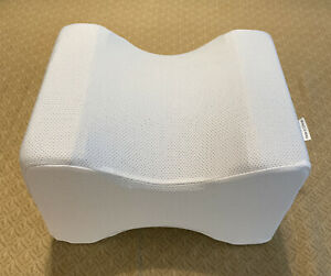 Orthopedic Memory Foam Knee Pillow for Back & Leg Pain Relief Removable Cover