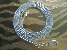 """Snake Chain 🇬🇧 925 silver 🌟 Necklace 🌟16-30"""" long + FREE gift bag 💖"""