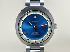 *Very Rare* NEW Zodiac Astrographic Blue Dial Limited Edition Watch ZO6606