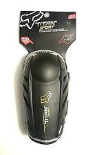 Fox Titan Sport Elbow Guards Black - 04265-001-S/M - Adult Motocross ATV Skate