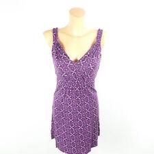 OPUS Kleid Sommerkleid Jersey Lila Gr. 36 S (GE104)