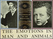CHARLES DARWIN*1904*EXPRESSION OF THE EMOTIONS IN MAN & ANIMALS:EVOLUTION*PHOTOS