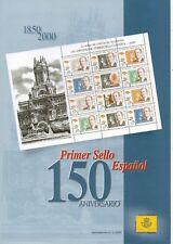 España 150 Aniversario Primer Sello Español año 2000 (DO-805)