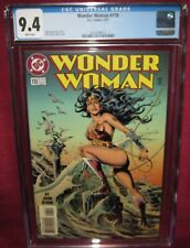 WONDER WOMAN #118 DC COMIC 1987 2nd series - CGC 9.4 WHITE PAGES