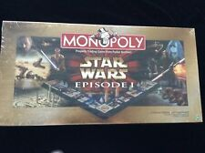 Star Wars Hasbro Monopoly Board Game Episode 1 *1999* BRAND NEW WITH SHRINK WRAP