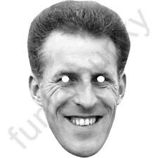 Bruce Forsyth Retro Celebrity Card Mask - All Our Masks Are Pre-Cut!