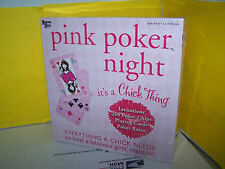 Pink Poker Night Game IT'S A CHICK THING - UNIVERSITY GAMES . NEW AND SEALED