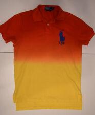 Polo Ralph Lauren Men's Polo Shirt Small Multicolor Summer Gradient Big Pony