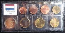OLANDA/PAESI BASSI 2005 - Serie annuale 8 monete euro FDC/UNC in blister