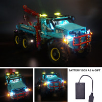 led light kit for LEGO 42070 Technic Series The Ultimate All Terrain 6X6 Remote