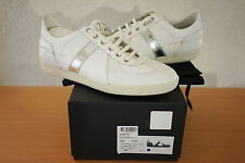 Dior Homme B01 White/Silver German Trainer Shoes Sneakers slimane 42.5 US 9.5