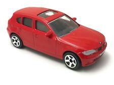BMW Serie 1 er Series E87 116i 118i 120i 118d 120d 123d Red Majorette 244C 1/64