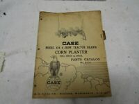 Vintage Case Parts Catalog Four Row Tractor Mounted Corn Planters