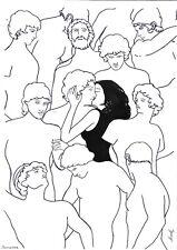 original drawing A3 49BJ art by samovar ink modern Women 2020