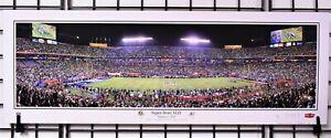 Super Bowl XLIV - Colts vs Saints at Miami / Panorama Print by Rob Arra