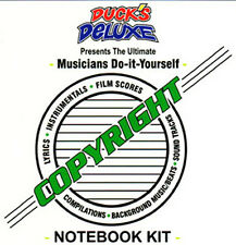 -THE COPYRIGHT NOTEBOOK KIT - © Has examples filled N4U-