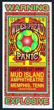 MINT & SIGNED Widespread Panic 1998 Mud Island Memphis Arminski Poster