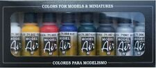 Airbrush Paints Vallejo Model Air 71174 Basic Colour Set 8x17ml Acrylic Bottles