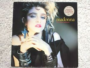 MADONNA - THE FIRST ALBUM (1983) WX22 - Vinyl LP (TESTED EX+)