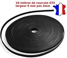 10 mètres - Courroie GT2 ,largeur 6mm pas 2mm, imprimante 3D Printer Timing belt