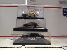 3 Collectible Nascar die-cast 1/64 & 1/24 scale
