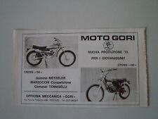 advertising Pubblicità 1973 MOTO GORI 50 CROSS G4/G5
