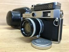 *Near Mint w/ Case & Meter* Canon P Rangefinder Camera 50mm f/1.8 L39 LTM Lens