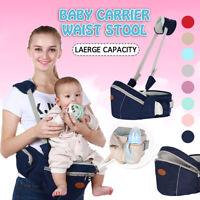 Baby Toddler Carrier Kids Infant Hip Seat Waist Stool Walker Chair Hold