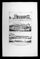 Debret Brazil Print View Sao Cristovao Palace Quinta Real de Boa Vista 1808-1831