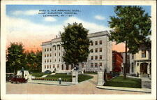 Lexington Kentucky POSTCARD 1953 Mary A. OTT Memorial Building Hospital America