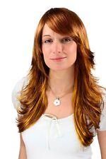 Perruque Extravagant en Couleur / Sauvage Style Blond Doré Long 50 Cm