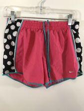 Nike Dri Fit Womans S Athletic Shorts Pink Polka Dot