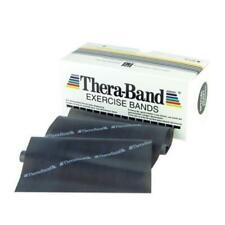 TheraBand Professional Latex Resistance Bands,6 Yard Roll, Black Advanced Level1
