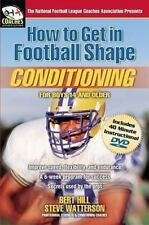(New) How to Get in Football Shape : Conditioning by Bert Hill (Book + DVD)