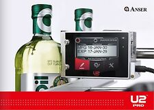 Glass Bottle Printer for date codes batch codes lot codes shift codes and more