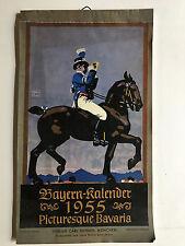 Ludwig Hohlwein Kalender, Kalender, Bayern Kalender, Bayern Kalender 1955,