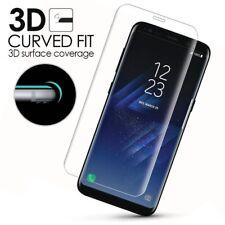Panzer Glas Display Schutz Folie für Samsung Galaxy S9 plus klar 3D Curved 9H