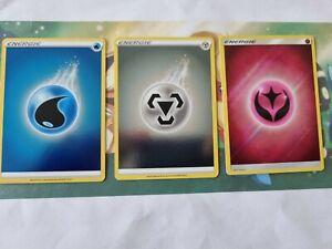 Pokemon Karte/ Karten Holo Energie 3er Set