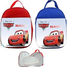 Lighting McQueen #1 Personalised Childs Lunch Bag
