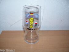 Bierglas Fußballweltmeisterschaft 1974 Glas WM 74  Will Bräu