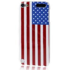 Schutzhülle f Apple iPod Touch 5 5G Cover Case Tasche Amerika USA Flagge