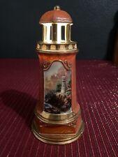 Thomas Kincaid The Light Of Peace Lighthouse Night Light Collectible