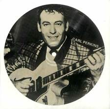 """Carl Perkins - Blue Suede Shoes - Single-Sided Picture Flexi - 7"""" Record"""