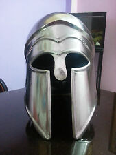Spartan Armor Helmet ~ Polish Finish ~ Ancient Sparta Antique ~ 18 G-Steel Armar