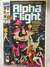 Alpha Flight #99 Comic Book Marvel 1991