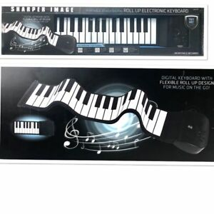 Sharper Image Musical Portable 37-Key Digital Roll Up Electronic Keyboard
